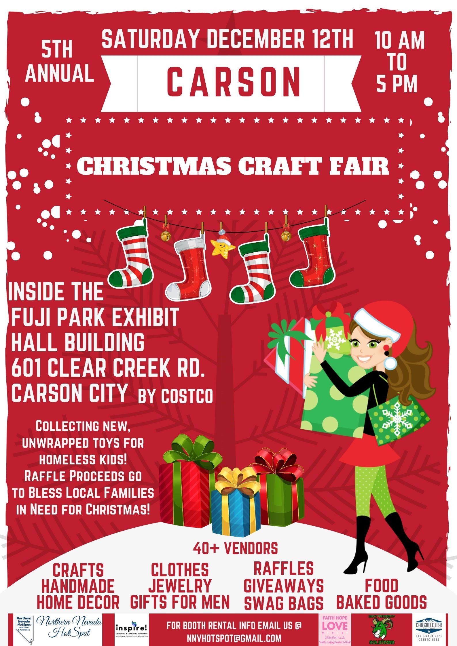 Christmas Craft Fair Visit Carson City